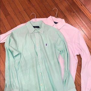 Ralph Lauren Polo Button Down Bundle 15.5 & M